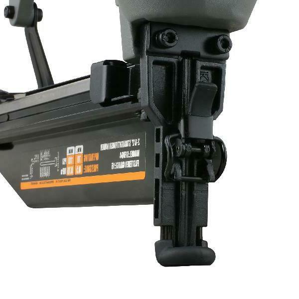 NuMax Pneumatic 2-1/2 X 16-Gauge Strip Finish Nailer Gun