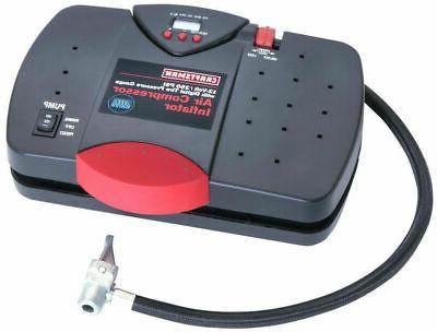 portable inflator pump tire pressure