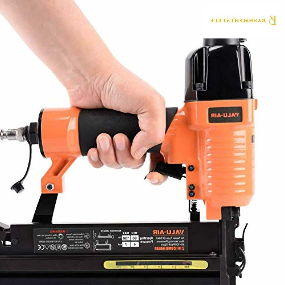 """Valu-Air 2"""" Gauge 2 Brad Nailer and with Carrying"""