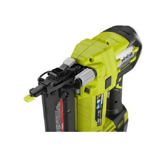 Ryobi Plus in. Nailer Battery and Charger Sold