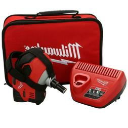 M12 12-Volt Lithium-Ion Cordless Palm Nailer Kit With  1.5Ah