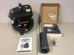 MasterCraft 3 Gallon PancakeAir Compressor 2-1 Blow and Nail