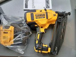 20V MAX 2.0 Ah Cordless Lithium-Ion 16 Gauge 2-1/2 in. 20 De