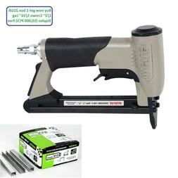 """meite MT8016S 21GA 1/2"""" Crown Upholstery Stapler with Safety"""