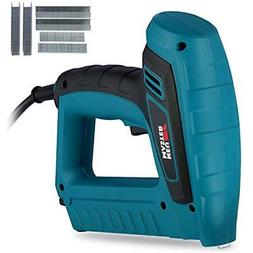 N6033 Electric Staple Brad Nail Gun Kit Includes 400 Staples