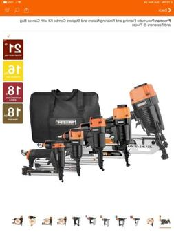 Freeman  NAil Gun Framing Gun and Finish Kit with Canvas Bag