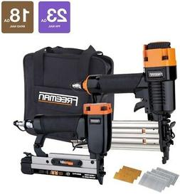 Freeman Nail Gun Professional Woodworker Special Kit with Fa