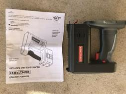 NEW,craftsman 19.2 volt nail-stapler gun,, 30 shot min.,,
