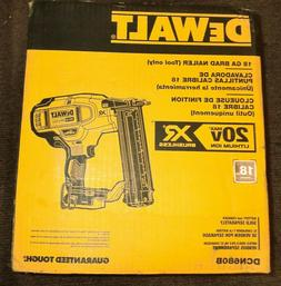 New* DeWalt 20-Volt Max Xr Lithium-Ion Cordless 18-Gauge Bra