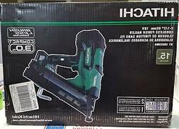 "Hitachi NT1865DMA 18V Brushless 2-1/2"" 15-Gauge Angled Finis"