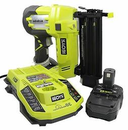 Ryobi 3 Piece 18V One+ Airstrike Brad Nailer Kit Includes: 1