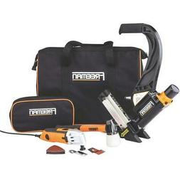 Freeman P50MTCK Flooring Nailer Kit with Oscillating Tool