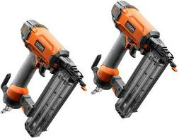 Pair of RIDGID - R213BNE - 2-1/8 in. 18-Gauge Brad Nailer Co