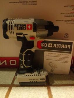 Porter-Cable PCC640B 20V Max Cordless Lithium-Ion 1/4 in. He