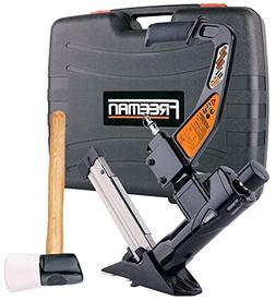 Freeman PFL618BR 3-in-1 Pneumatic Flooring Nailer by Freeman