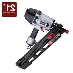 Husky Pneumatic 3-1/2 in 21-Degree Air Framing Nailer Nail G