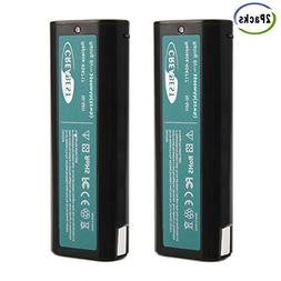 Creabest 2Pack 3500mAh 6V Replacement Battery Compatible wit
