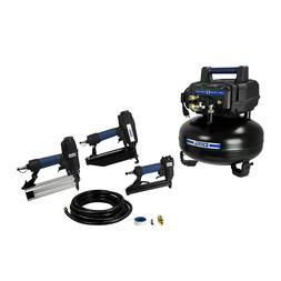 Excell U256PPCKE Compressor and 3-Nailer Combo Kit