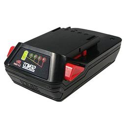 Senco VB0155 18V Li-ion Slim Pack Fusion Nailer Battery 4-Pa