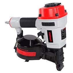 PowRyte Works 11 Gauge Air Coil Roofing Nailer, Roofing Nail